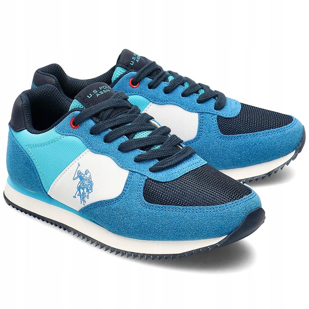 U.S. Polo Assn Niebieskie Sneakersy Dziecięce R.36