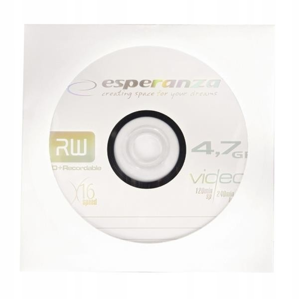 ESPERANZA 1120 - DVD+R - karton 500pcs [ koperta