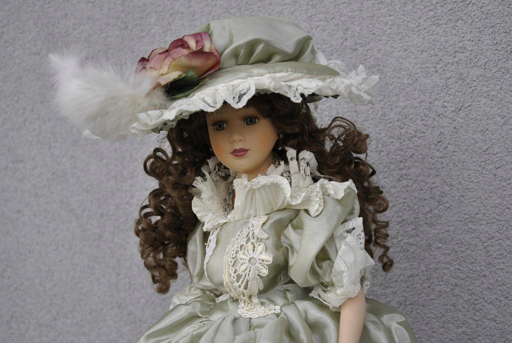 Porcelanowe Lalka Vanity Fair Stewart Ross Sadie 8624068415 Oficjalne Archiwum Allegro