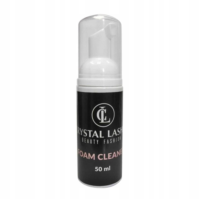 Crystal Lashes szampon do rzęs 50ml pianka