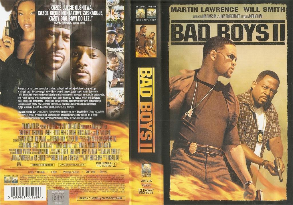 Bad Boys II - VHS