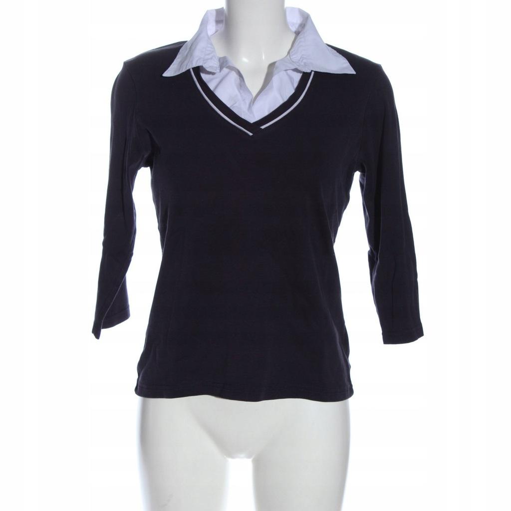 MICHELE BOYARD Rozm. EU 42 czarny V-Neck Shirt
