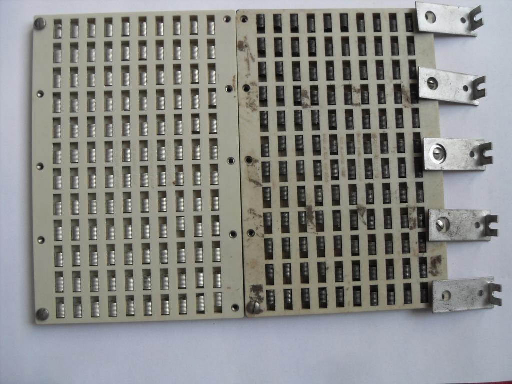 Płytka montażowa uniwersalna na sprężynki 2 szt.