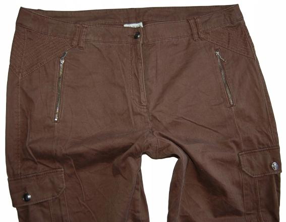 9F83 JAK NOWE spodnie bojówki ZIPP CANDA 50