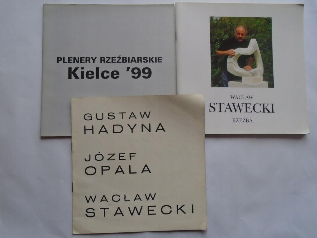 @ STAWECKI LATOS MICEK KATALOG PLENERY KIELCE 1999