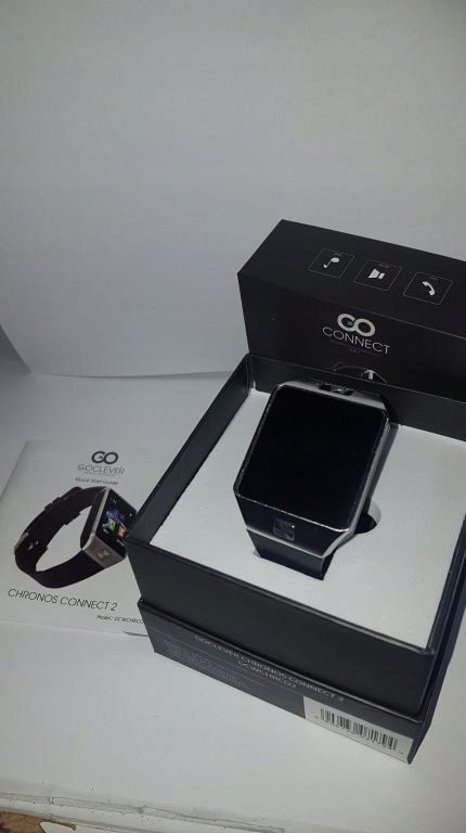 SMARTWATCH GOCLEVER CHRONOS CONNECT 2 W PUD
