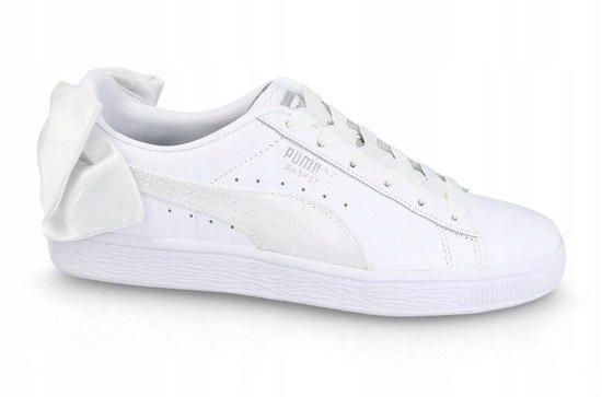 Białe Buty Puma Basket Bow Wns 367319 01 - 38