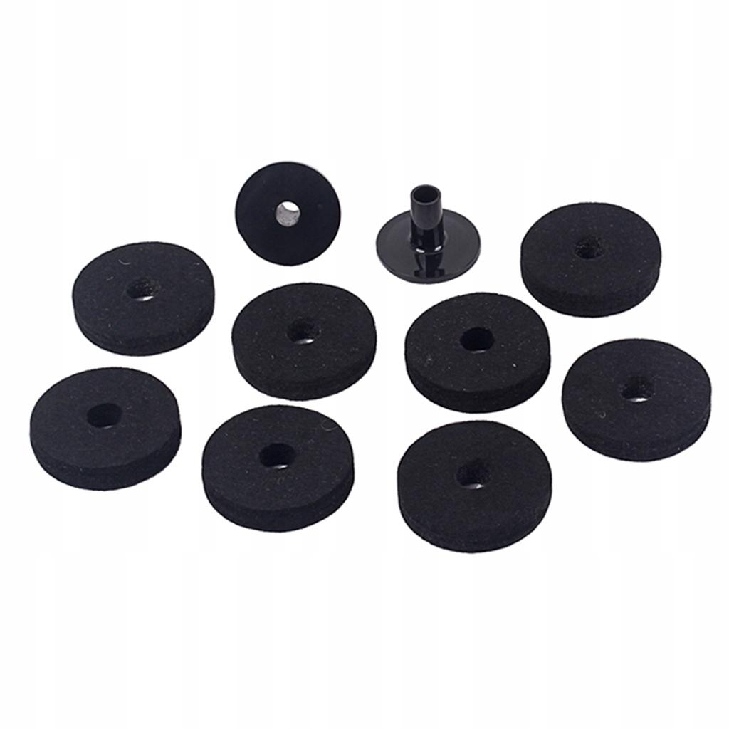 8 szt. Bęben talerzowy stojak filcowy - 50mm