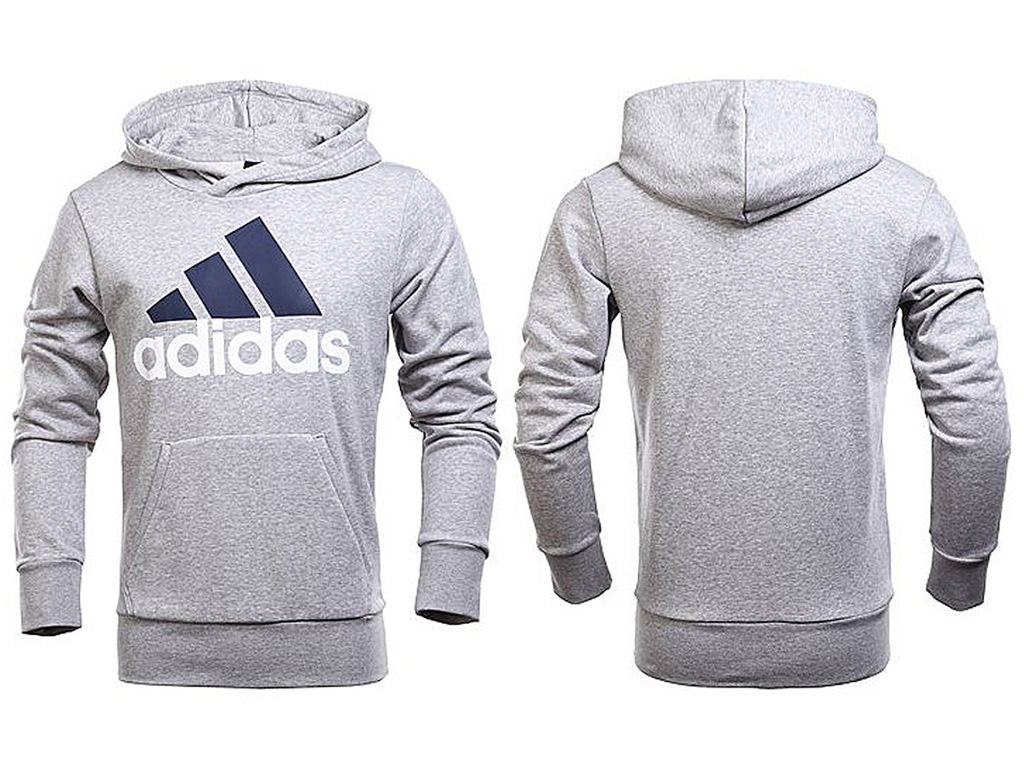 Bluza adidas essentials linear pullover hood french terry m s98775