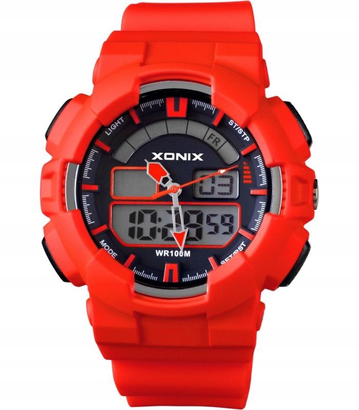 Zegarek elektroniczny XONIX NZ 04 czerwony