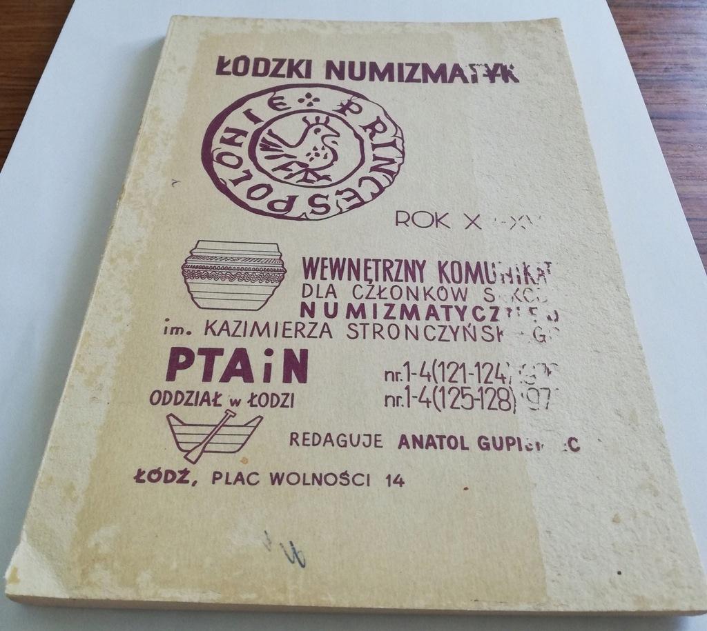 Łódzki Numizmatyk Rok 1976/1977