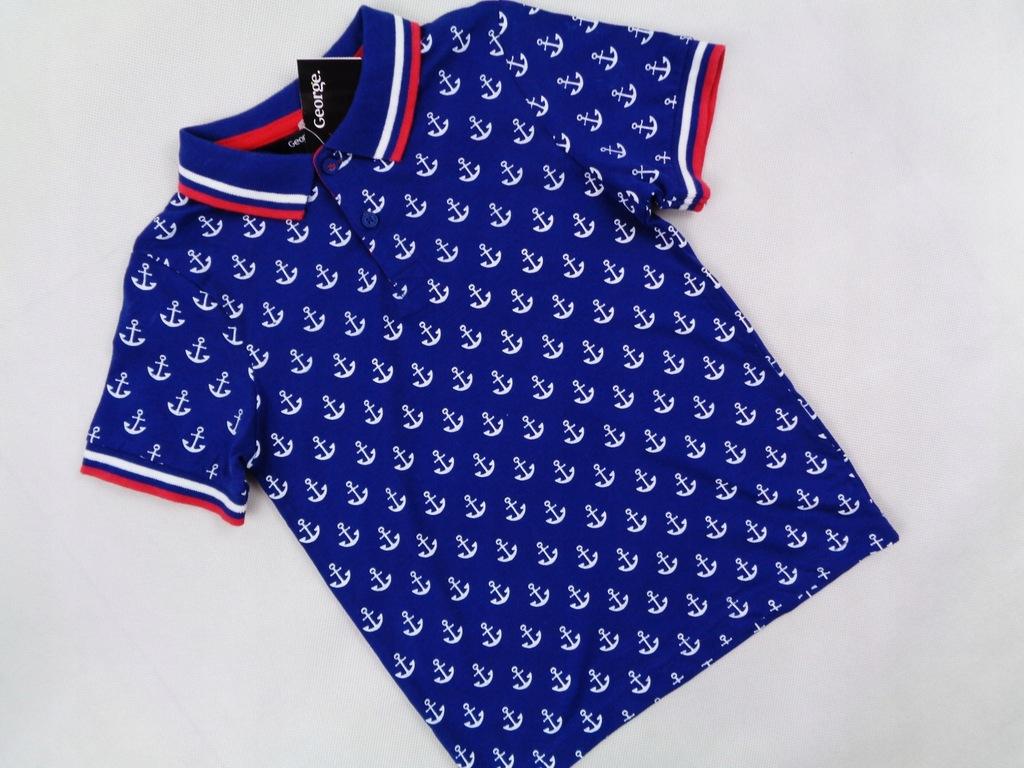George stylowa chłopięca koszulka Nowa 104/110