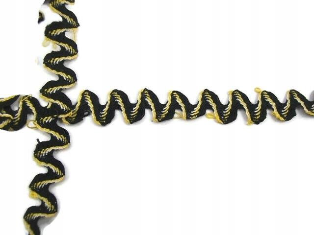 Pasmanteria taśma ozdobna 9,3m x 1,3cm / nr 65
