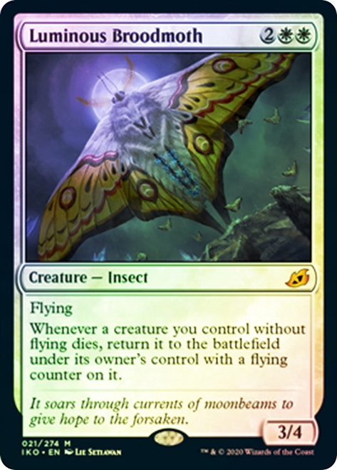 Luminous Broodmoth FOIL - Magic