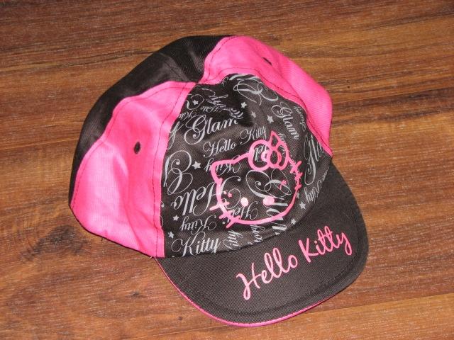 Hello Kitty fajna czapka brokat 104 128