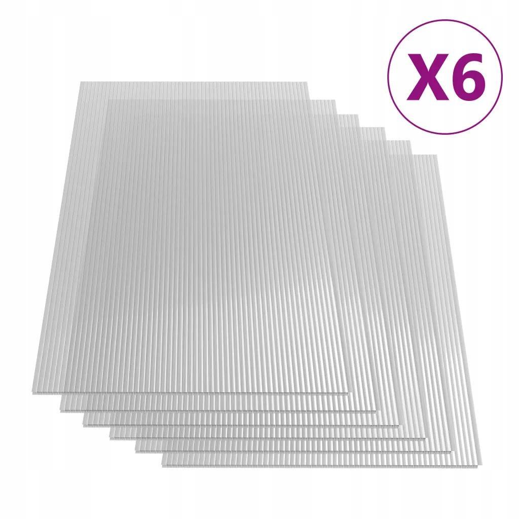 Płyta Poliwęglanowa Do Szklarni x6 113x60,5 cm