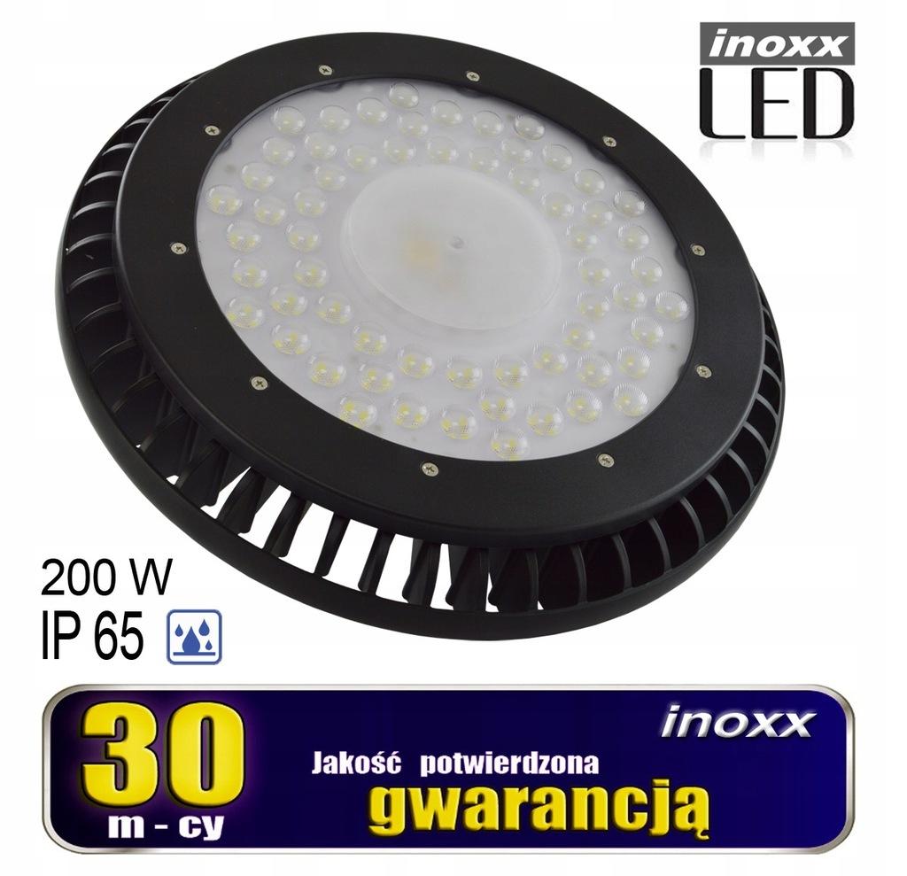 Lampa przemysłowa led ip65 200w high bay ufo 24 00
