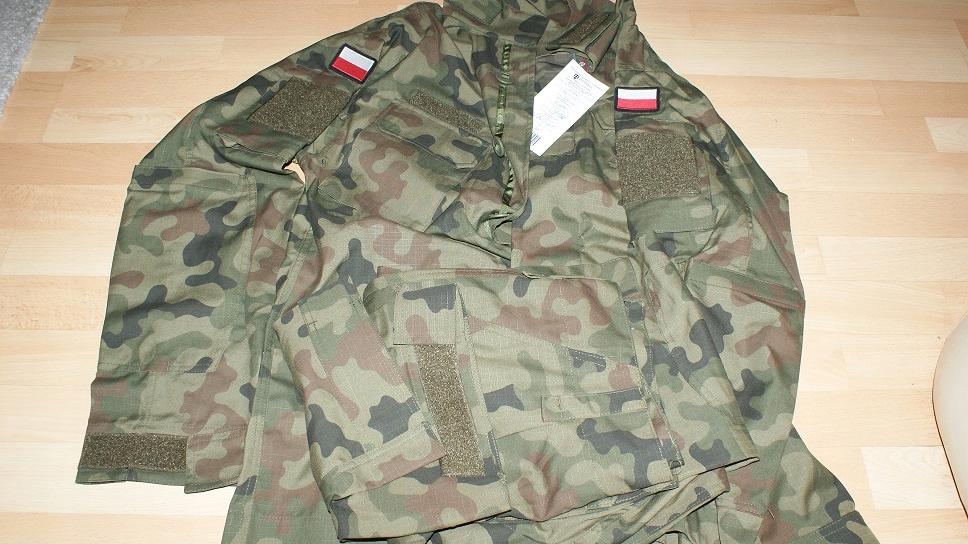 Wojskowy mundur 2019 wz.124 L/MON roz S/R NOWY