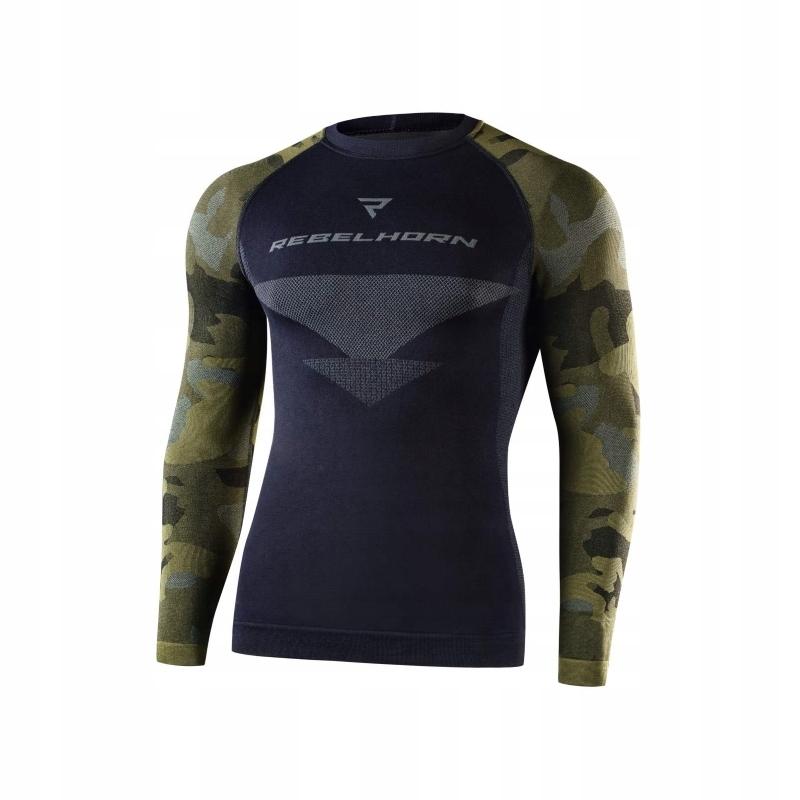 Koszulka Termoaktywna Rebelhorn Freeze Black M