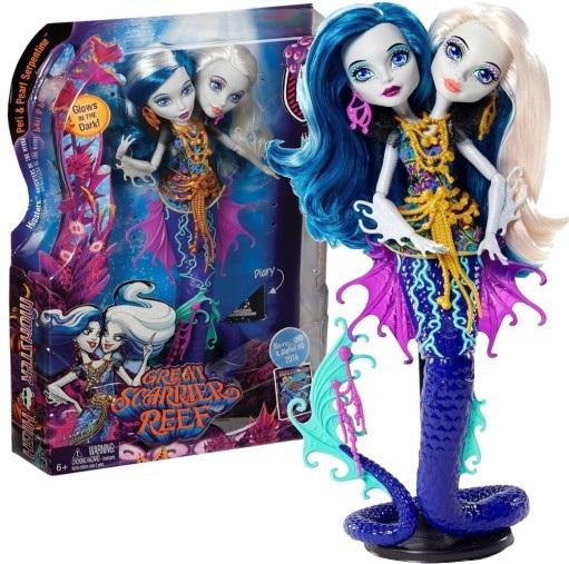 Monster High Hydra Peri I Pearl Dwuglowa Dhb47 6798797185 Oficjalne Archiwum Allegro