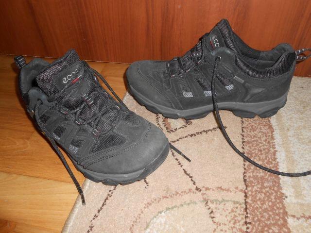ECCO RECEPTOR GORE TEX czarne,wiązane,42/27 cm