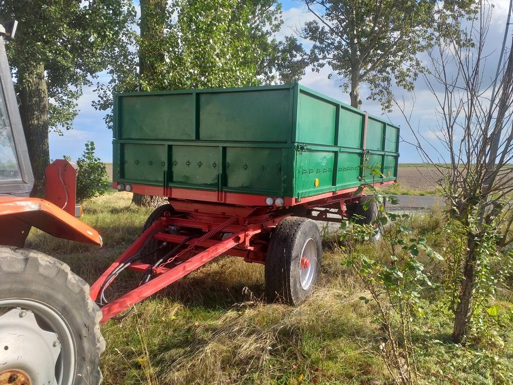 Przyczepa Rolnicza HL 8011 faktura wat