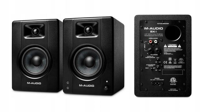 M-AUDIO BX4: Monitory aktywne....Para