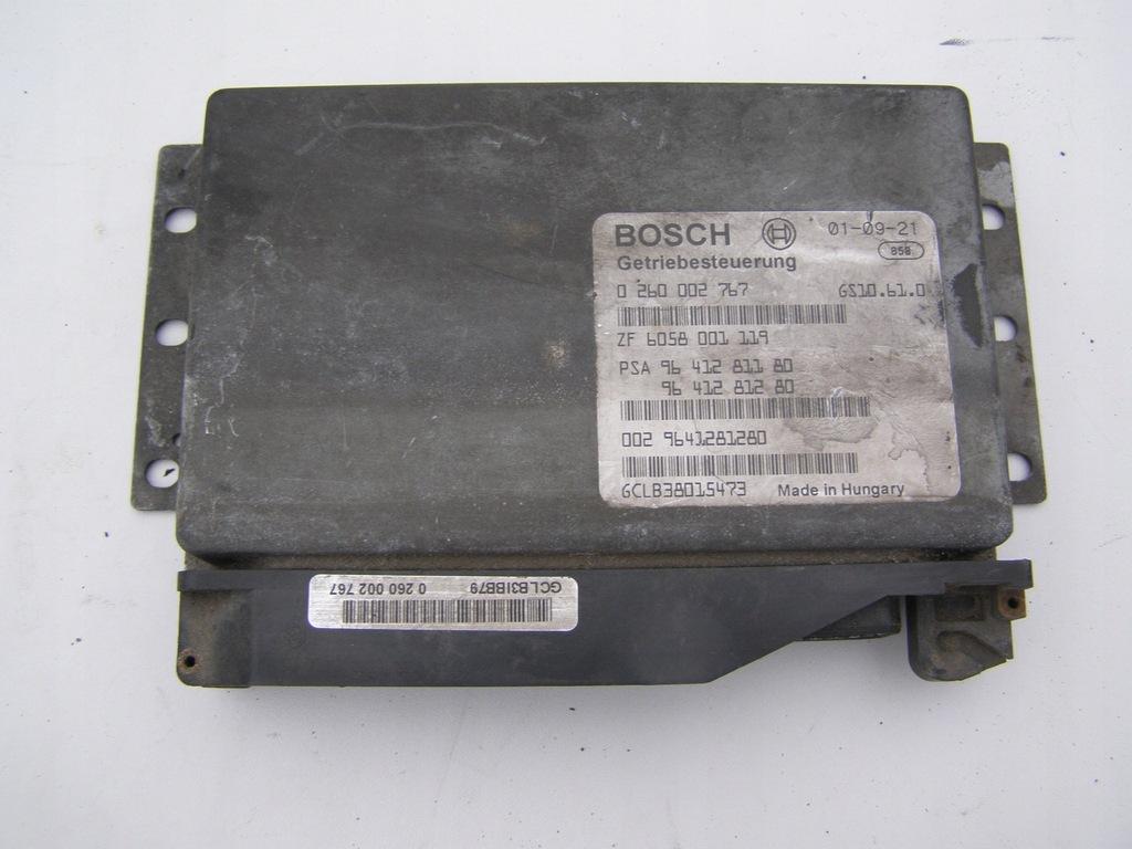 Peugeot 607 2.2HDI sterownik skrzyni biegów 02 rok