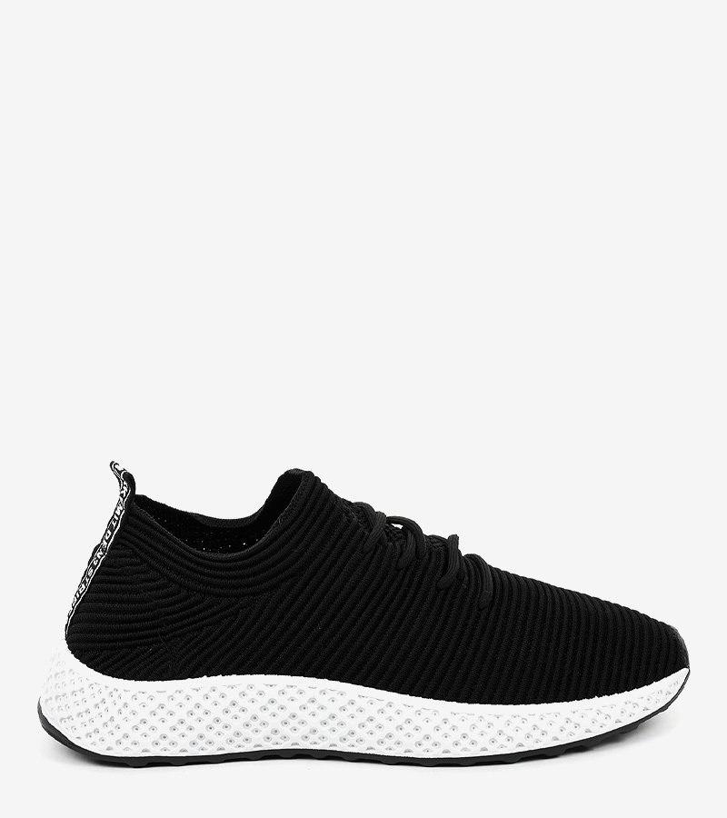 Czarne obuwie sportowe GM809-1 42