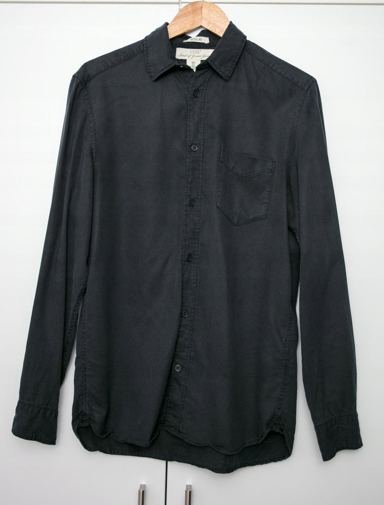 Koszula męska H&M rozm. S granat.