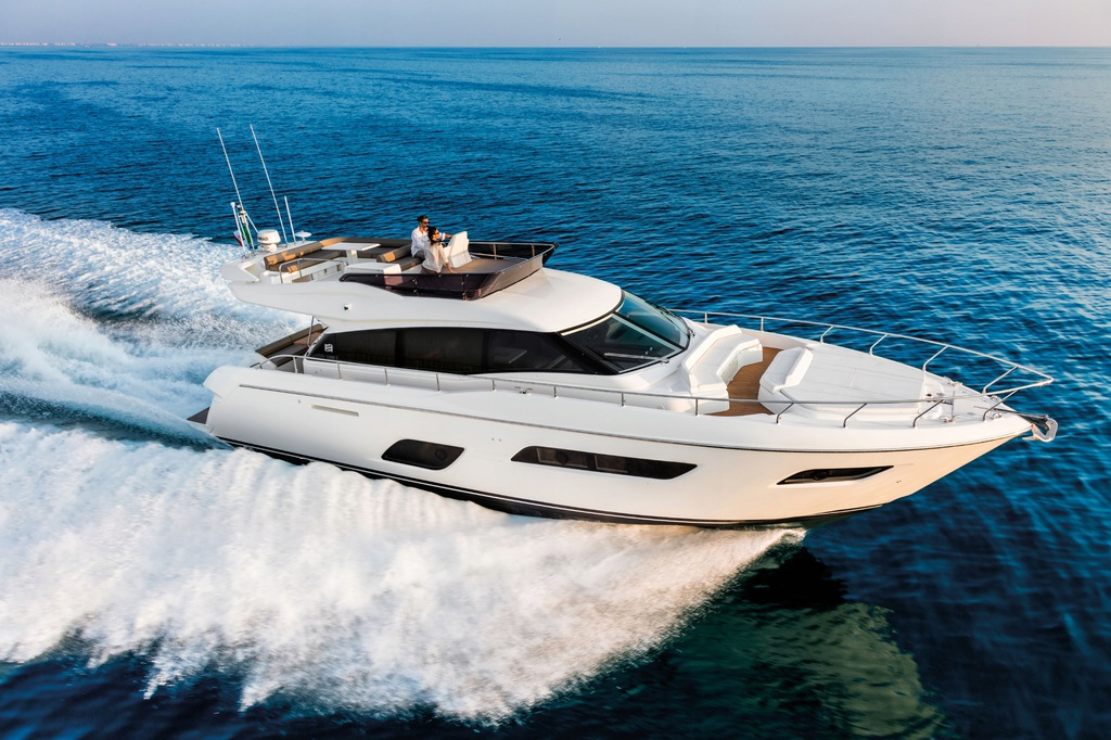NOWY Jacht motorowy Ferretti Yachts 550