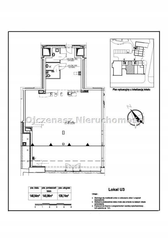 Komercyjne, Bydgoszcz, Bielawy, 147 m²