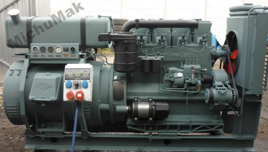 Agregat prądotworczy Andoria S324 60kVA z AVR R3R