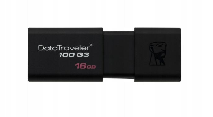 PENDRIVE KINGSTON DATATRAVEL 16GB USB 3.1 IDEALNY