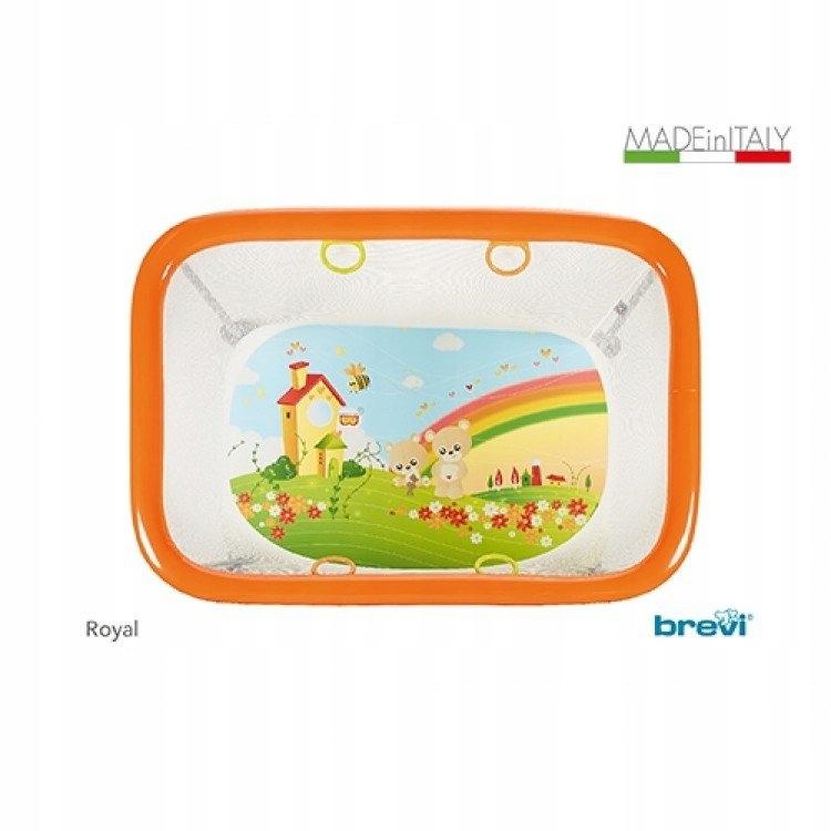,Brevi Royal Playpen (My Little Bear) ŁÓŻECZKO