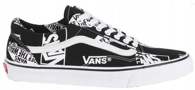 Vans Old Skool Logo Mix VA38G1UA9 | Biały, Czarny