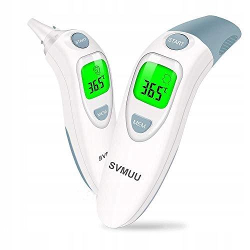 SVMUU Cyfrowy termometr ostrzeżenie o gorączce