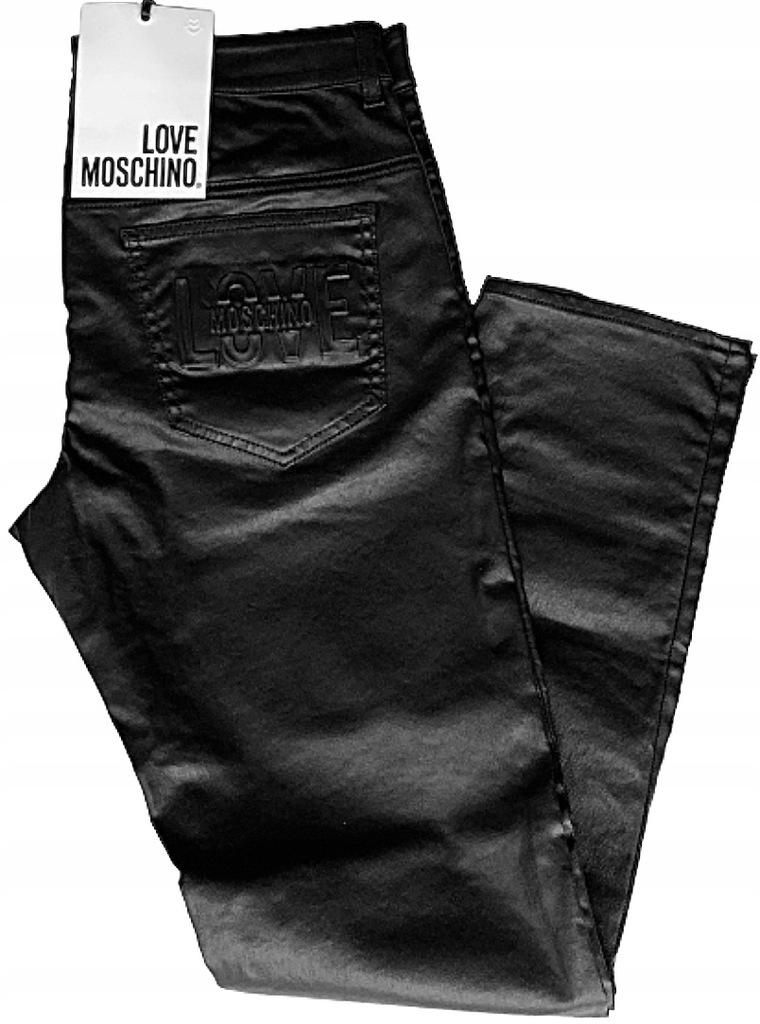 LOVE MOSCHINO oryginalne spodnie r. 34