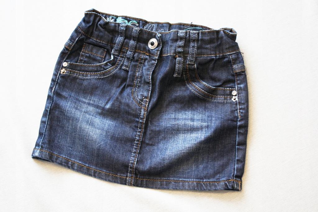 JEANS elastyczna spódnica jeansowa 1058 BENITA 8A