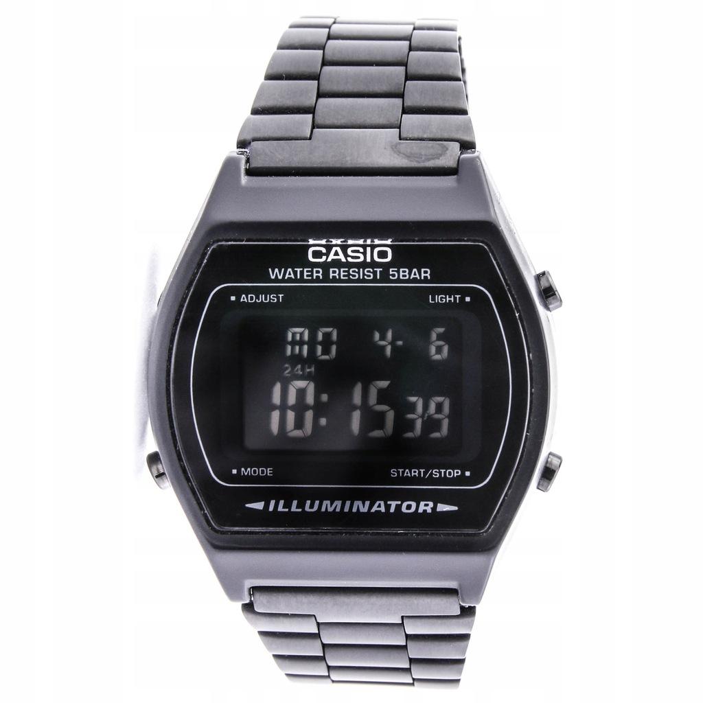 Zegarek CASIO B640WB-1BEF unisex stoper timer data