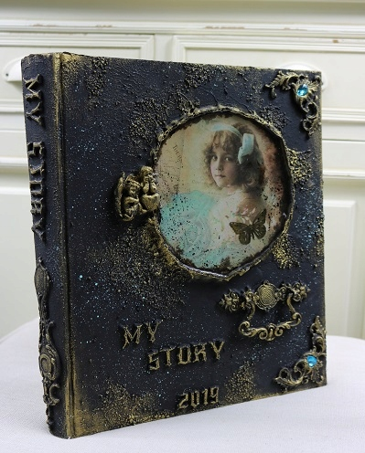 Album na zdjęcia vintage , prezent, pamiętnik