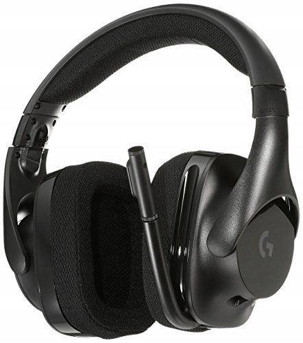 BEZPRZEWODOWE Słuchawki z mikrofonem Logitech G533