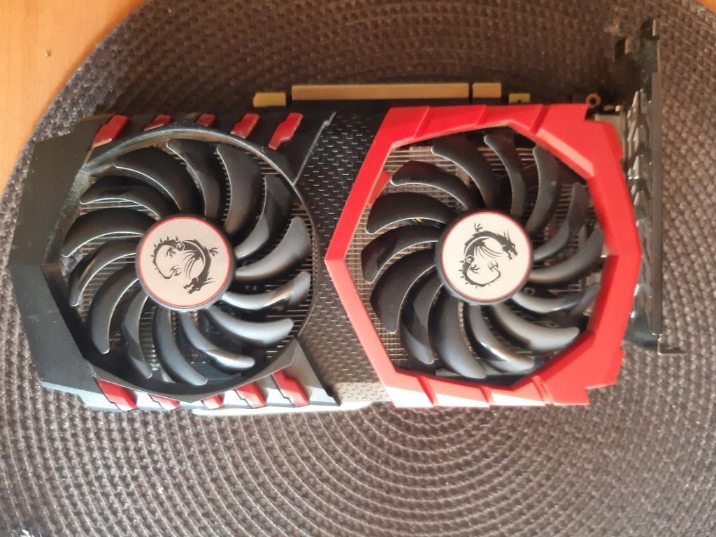 MSI GeForce GTX 1050Ti OC GAMING X 4GB GDDR5