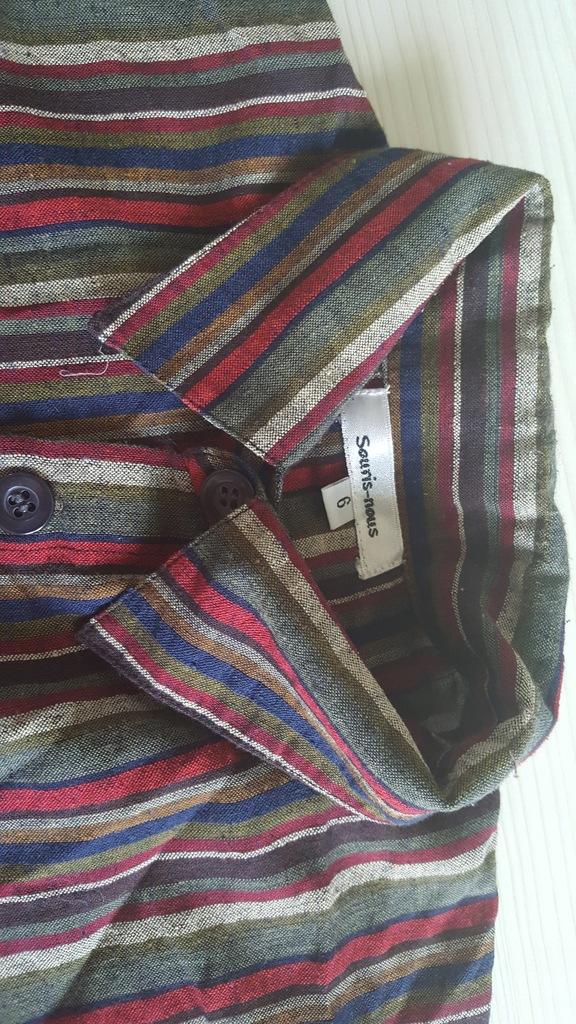 SOURIS NOUS lux kids 5-6 116 modna krata koszula