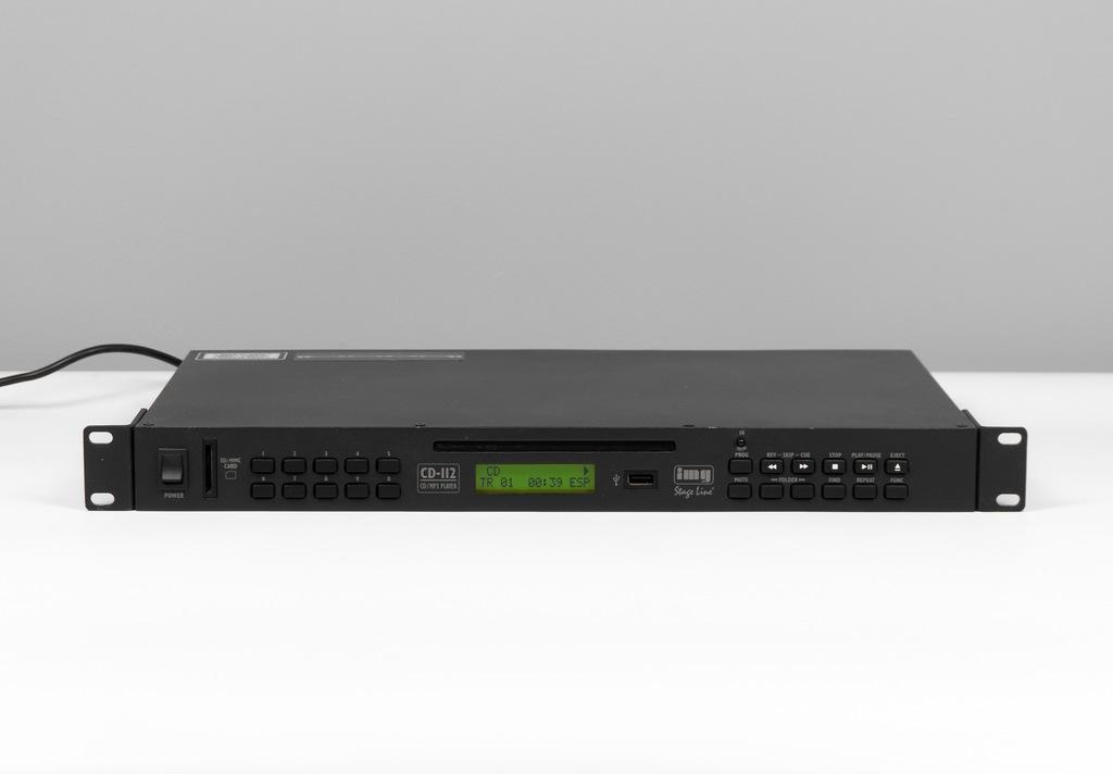 Odtwarzacz CD/MP3 z USB / SD IMG Stage Line CD-112