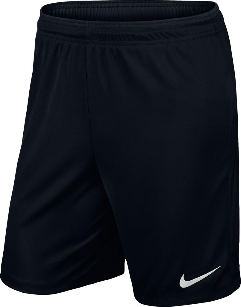 Spodenki Nike Park II junior czarne roz. 158