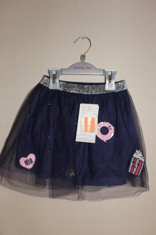nowa spódnica tutu cool club naszywki 104 cm