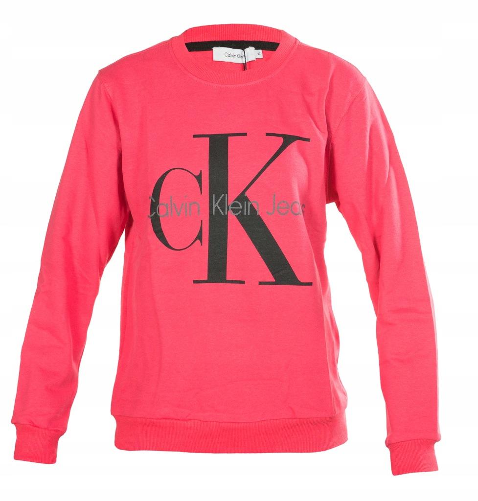 Bluza Calvin Klein Damska Logo Rozowa S 7645468546 Oficjalne Archiwum Allegro