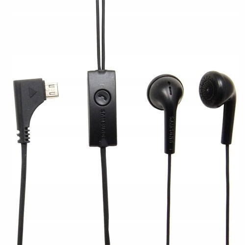 Zestaw stereo Samsung EHS41 black bulk microUSB