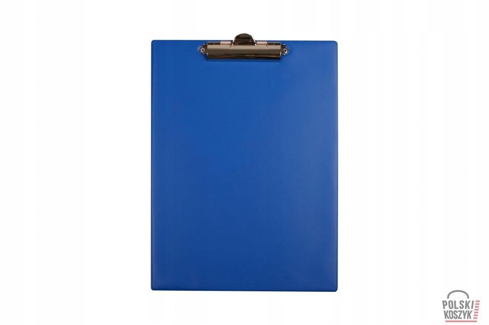 Biurfol Deska klip A4 niebieska